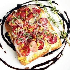 Cherry Toast Recipe