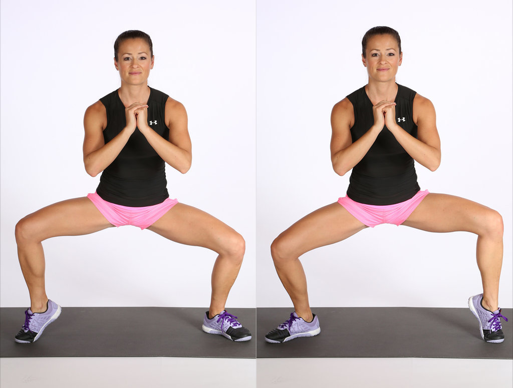 Lower Body: Wide Squat With Calf Raise
