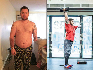 Meet the Wounded Veteran Who Used CrossFit to Battle PTSD and Lose 70 Lbs.
