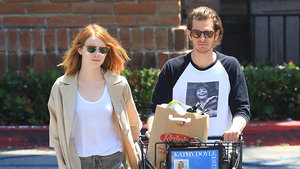 Finally! Emma Stone & Andrew Garfield Photographed Together Again