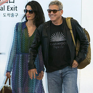 George and Amal Clooney at Tokyo Airport | May 2015