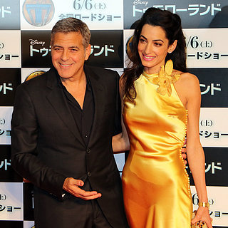 Amal and George Clooney at Tomorrowland Premiere in Tokyo
