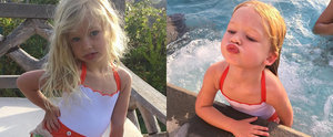 Jessica Simpson's Adorable Daughter Definitely Inherited Her Posing Skills