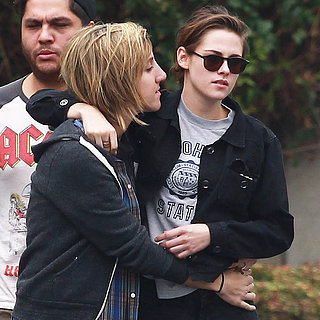 Kristen Stewart and Alicia Cargile PDA on Memorial Day 2015