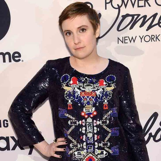 Lena Dunham's Lingerie Picture on Instagram May 2015