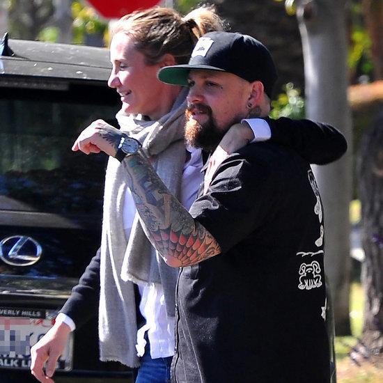 Cameron Diaz and Benji Madden PDA May 2015
