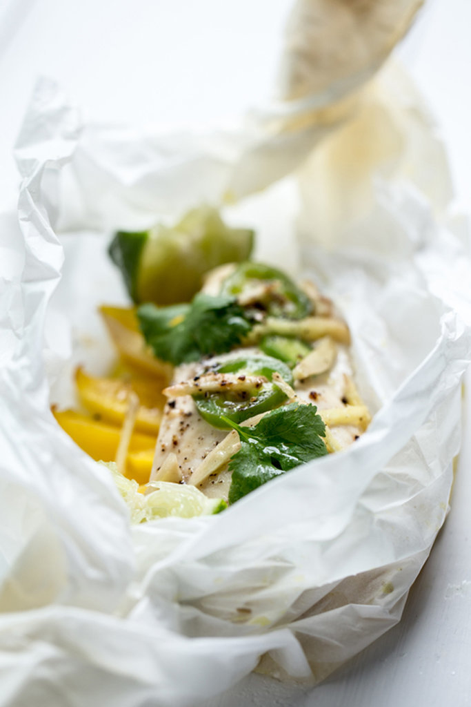 Ginger-Scallion Chicken Breasts Baked In Parchment Recipes ...