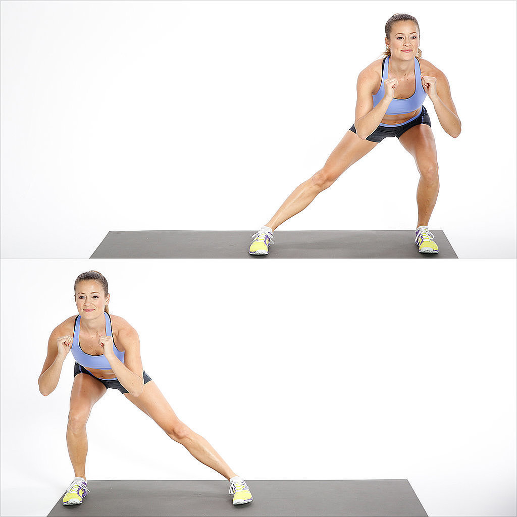 Lower Body: Alternating Side Lunge