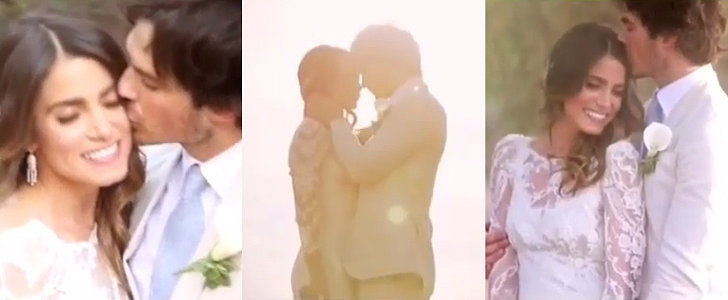 Ian Somerhalder and Nikki Reed's Wedding Video Is Beyond Romantic