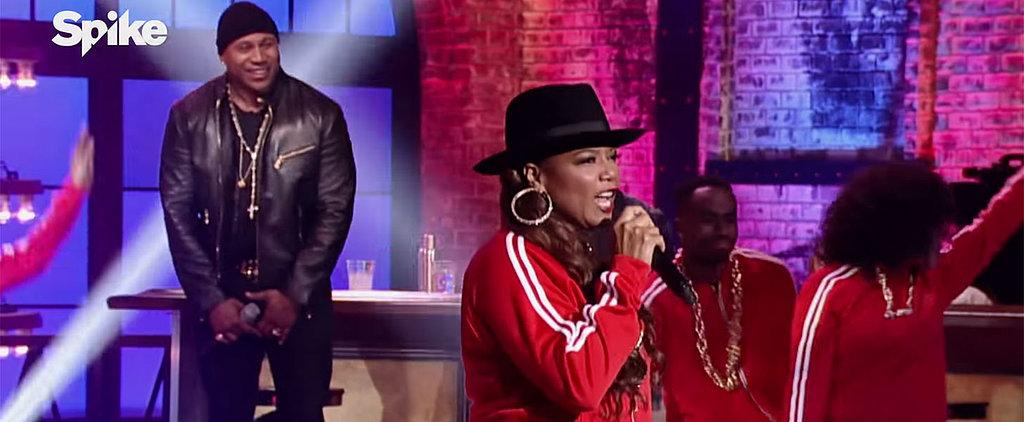 Queen Latifah's Lip Sync Battle Is Just One Big '80s Dance Party