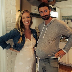 Leah and Brandon Jenner's Baby Bump Picture