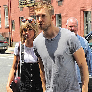 Taylor Swift and Calvin Harris Having Lunch With Ed Sheeran