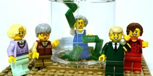OMG, Have You *Seen* This Golden Girls LEGO Set?!