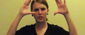 "This Girl Kills It With Her Sign-Language Take on Eminem's ""Lose Yourself"""