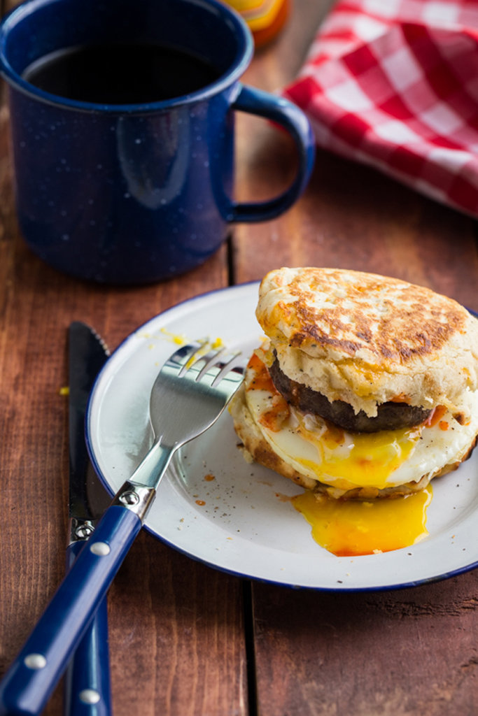 Campfire Breakfast Burger