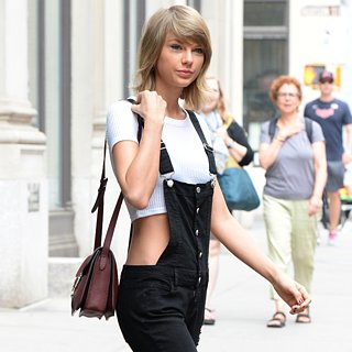 Taylor Swift's Black Overalls