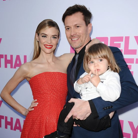 Jaime King With Husband and Son on the Red Carpet