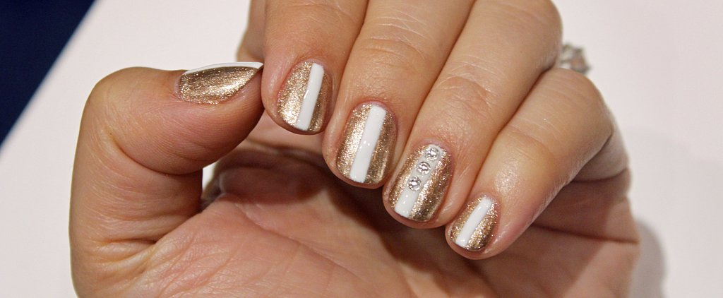 Diamond Nail Art That's Classy Enough to Wear on Your Wedding Day