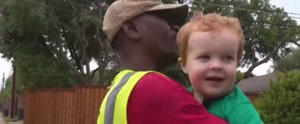A Little Boy Has a Party to Say Goodbye to His Best Friend — the Family Garbage Man