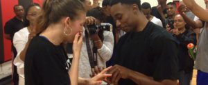 Watch This Guy Pull Off a Real-Life Love & Basketball Proposal — It's So Sweet
