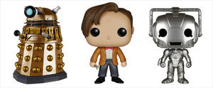 Cuddle With These Exclusive Doctor Who Dolls