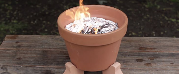 The Grilling Hack You Haven't Tried Yet With a Terra-Cotta Pot