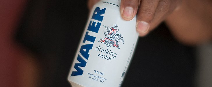 Anheuser-Busch Stops Brewing Beer to Make Cans of Water For Flood Victims