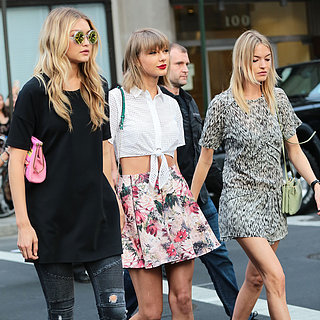 Taylor Swift, Gigi Hadid, and Martha Hunt Recreate Bad Blood