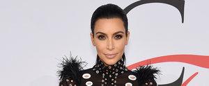 You'll Want to Take a Closer Look at Kim Kardashian's CFDA Look