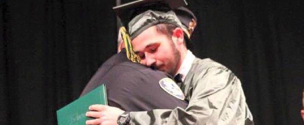 The Cop That Told a Teen His Parents Were Killed Joined Him on Stage at His Graduation