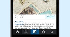Instagram Adds a 'Shop Now' Button