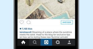 Instagram Adds a 'Shop Now' Button