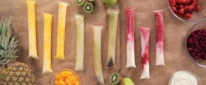 DIY Fresh-Fruit Otter Pops