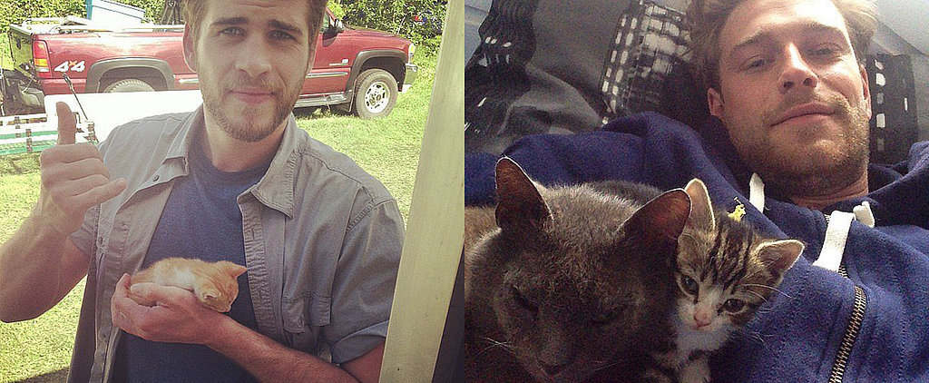Here Are 23 Hot Dudes Hugging Cats