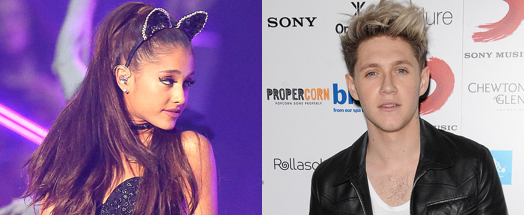Newly Single Ariana Grande Gets Silly With Niall Horan in London
