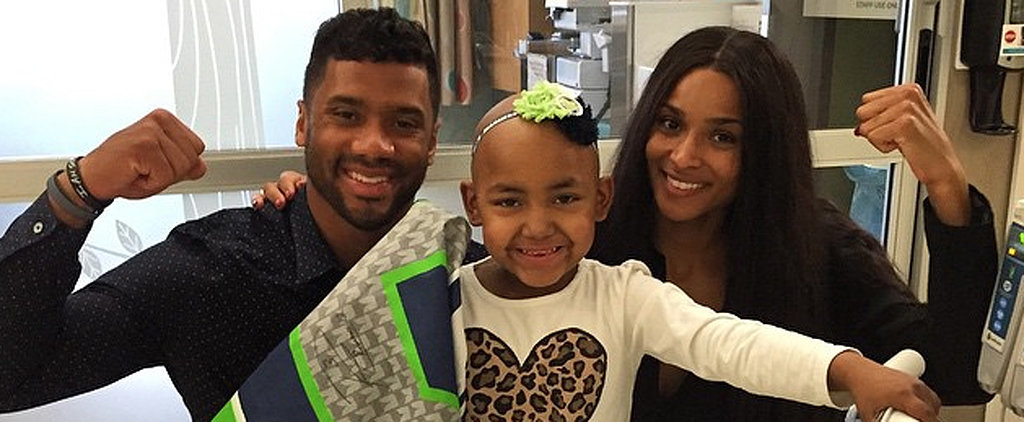 Russell Wilson and Ciara's Moments With Sick Children Will Warm Your Heart