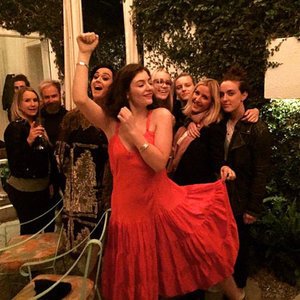Picture of Katy Perry Partying With Lorde and Ellie Goulding