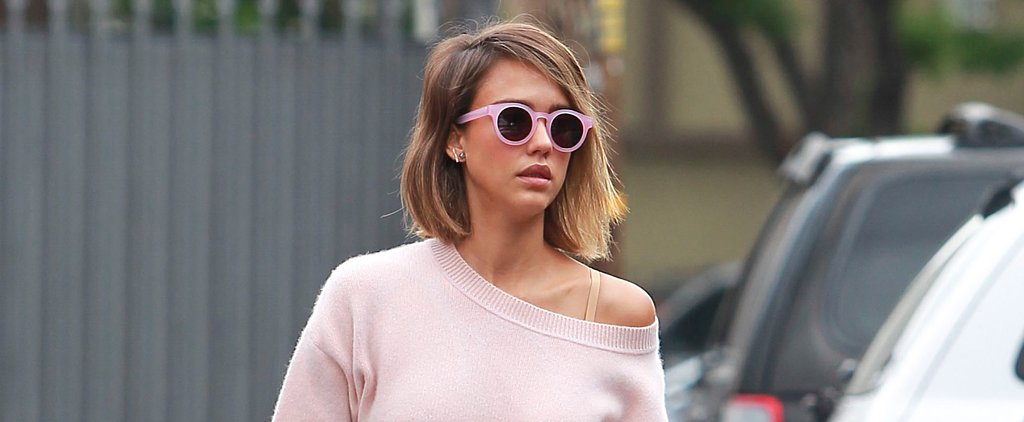 The Floral Piece Spotted on Jessica Alba You Can Now Get Your Hands On