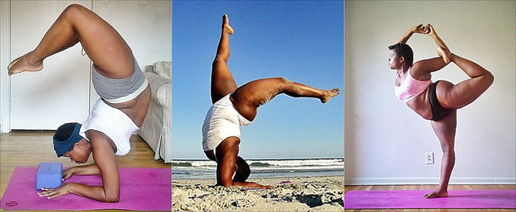 How This Curvy Yogi Is Helping Others Embrace Their Body Shapes