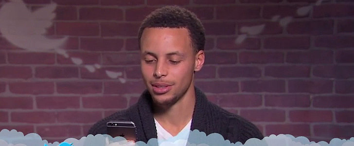 Stephen Curry Brings the Laughs in the Latest Round of Celebrity Mean Tweets
