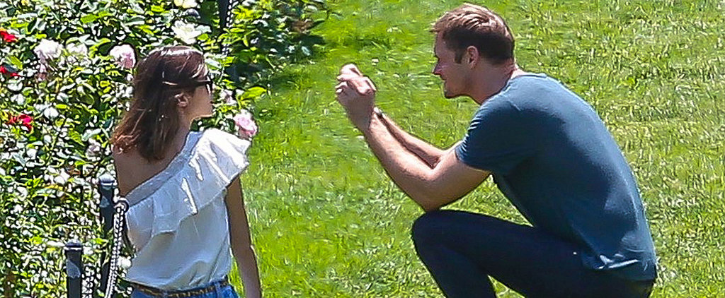 Alexander Skarsgard and Alexa Chung Show PDA in the Park!