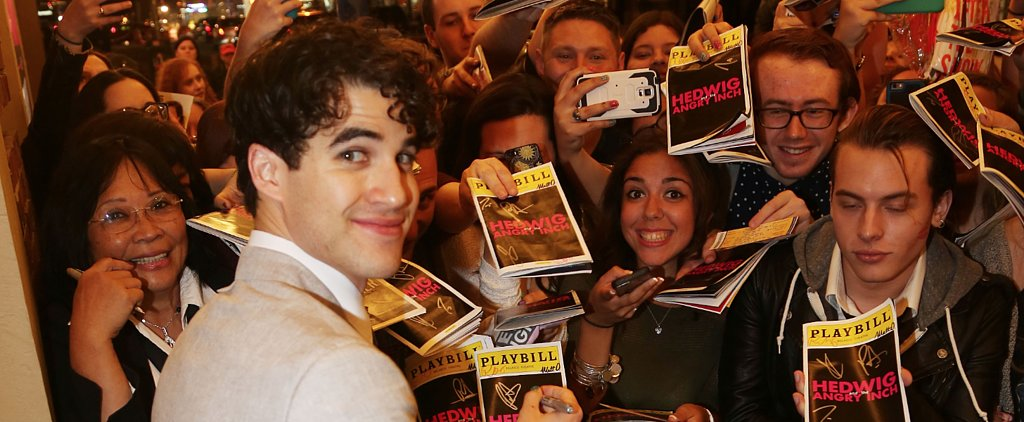 Darren Criss on Why You Don't Need to Wear Makeup