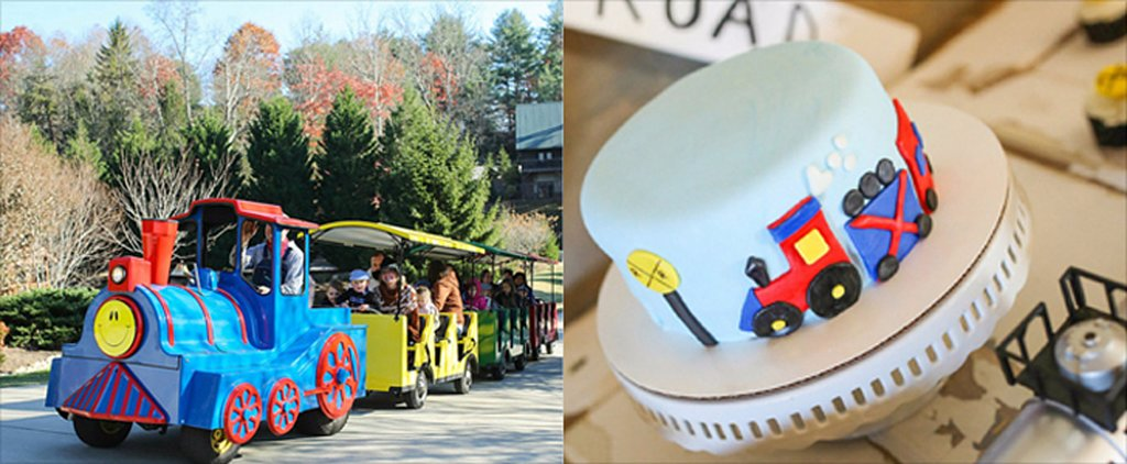 Celebrate Your Little Conductor's Birthday With This Vintage Train Birthday Party