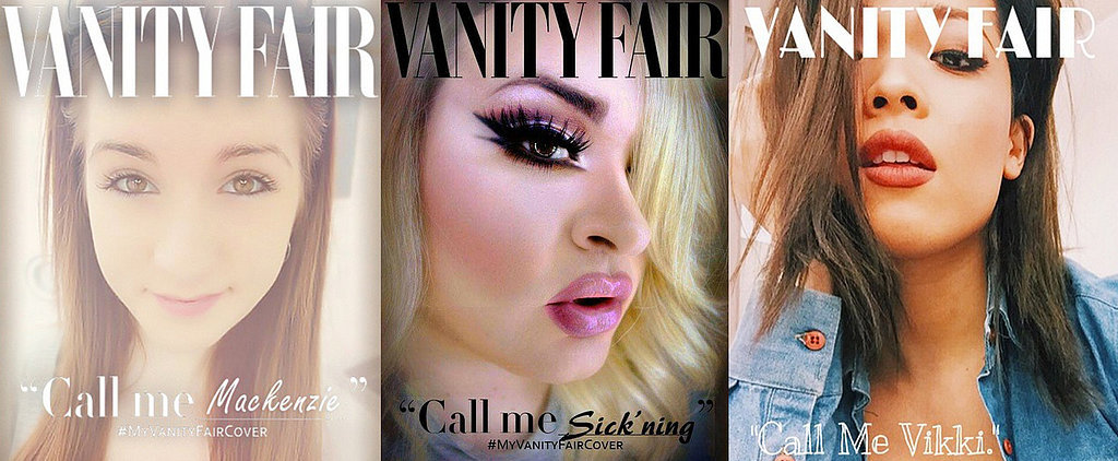 #MyVanityFairCover Is the Most Important Beauty Hashtag This Year