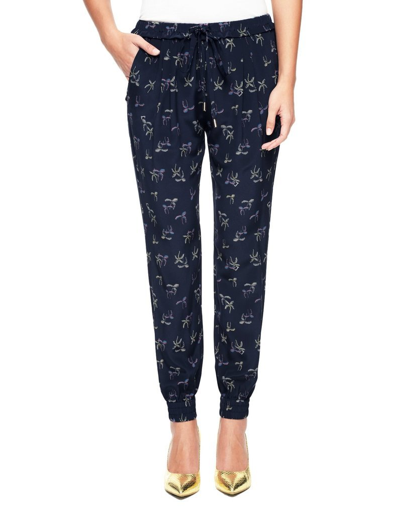 Juicy Couture Beachside Palms Silk Pant ($198)