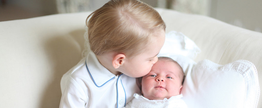 Princess Charlotte and Prince George Are the Cutest Duo in Her First Portraits!