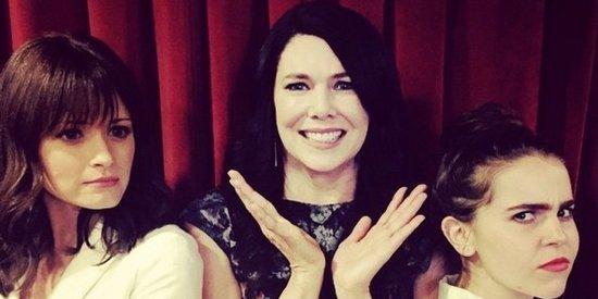 Lauren Graham's TV Daughters, Alexis Bledel And Mae Whitman, Finally Meet