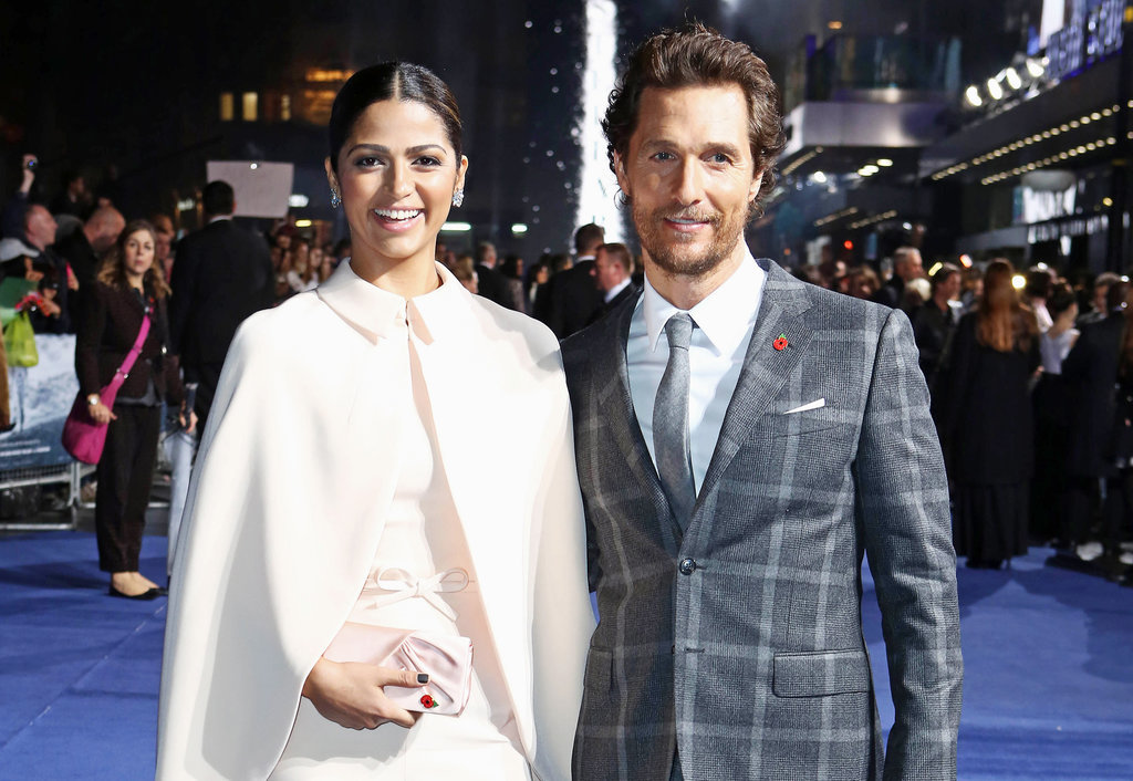 They had huge smiles during the October 2014 premiere of Interstellar in London.