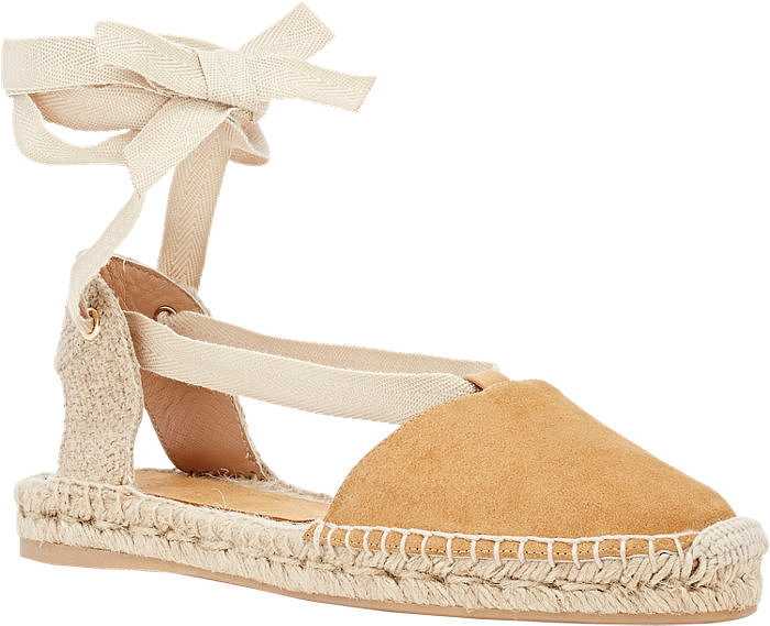 Barneys New York Ankle-Tie Espadrilles