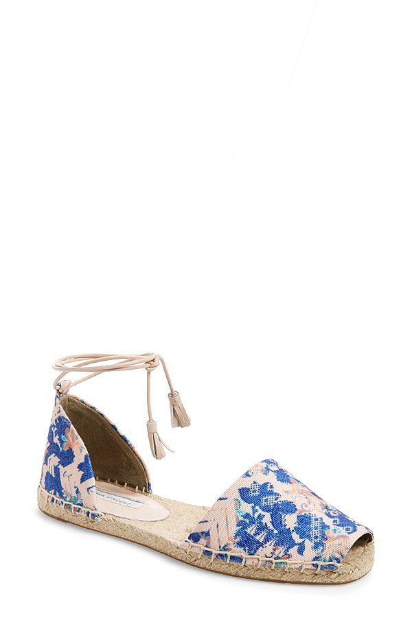 Cynthia Vincent Espadrille Flat